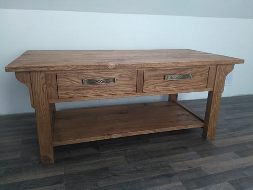 Konferenční stolek dub rustikal