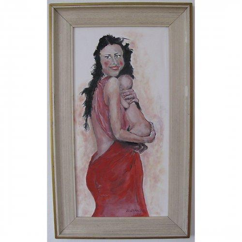 Žena s dítětem