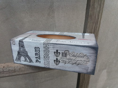 Krabička na kapesníčky Paris