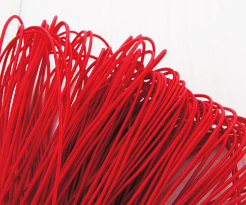 6.4 m 21ft 7yrd Červené Kulaté Nylonové Elastické