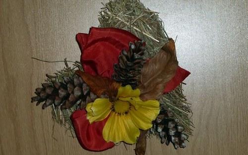 Květinové aranžmá Sluníčkové srdíčko