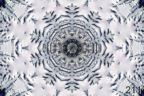 Mandala Planety Země, Antarktida, Arktida