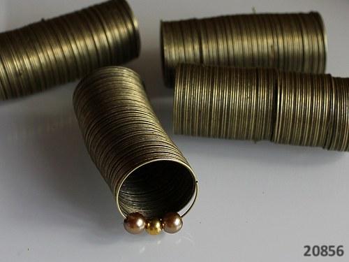 20856-20 Paměťový drát 20/0.6mm BRONZ, 20 otoček