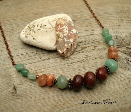 Parre ..... náhrdelník s minerály