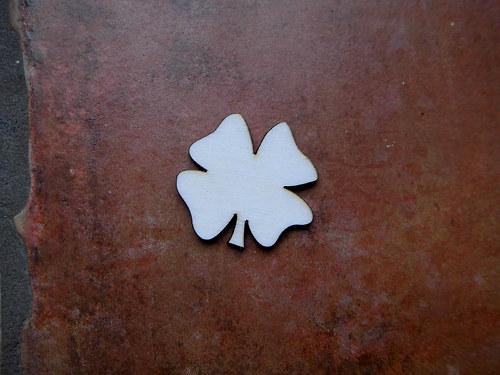 2D výřez čtyřlístekpr. cca 3,7cm