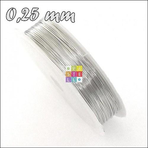 (2887) Drôtik 0,25 mm - návin 42 metrov