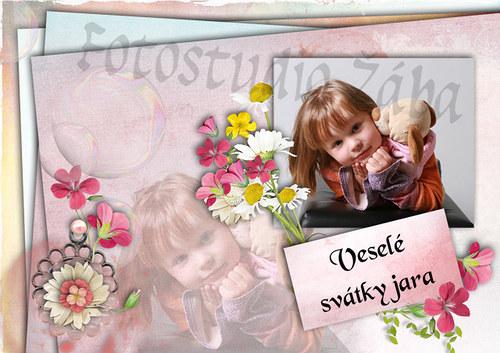 Velikonoční pohlednice č. 3