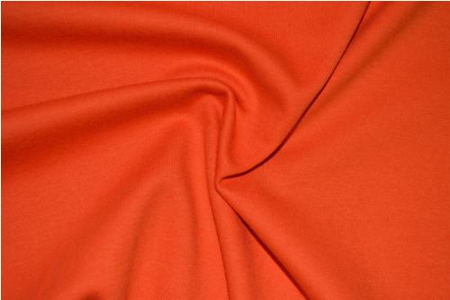 Úplet sytě oranžový - vyšší gramáž