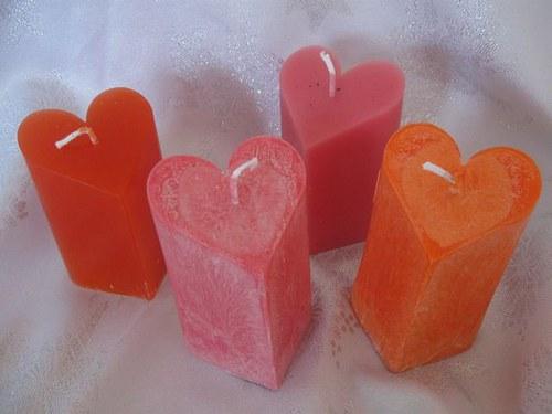 Sleva: Voňavé srdce - Svíčka