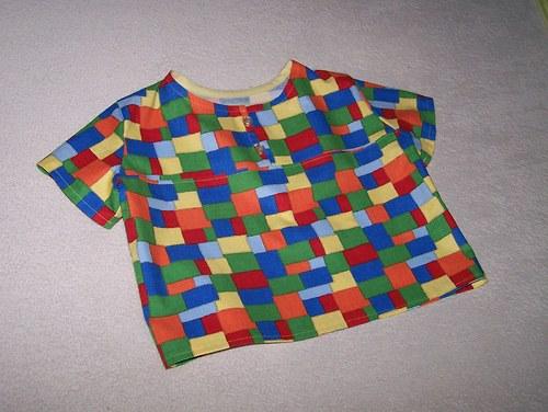 tričko - rozsypaly se kostičky