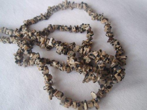 Úlomky Jaspis Dalmatin, cena je za 10 cm návleku!