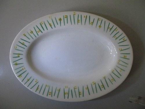 Oválný talíř Ditmar-Urbach