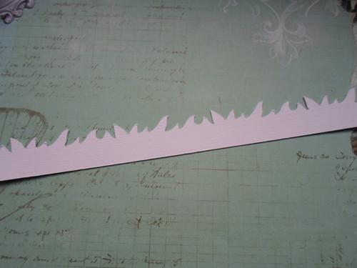 Ozdobná bordura - tráva - barva na výběr