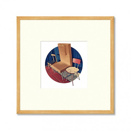 Židle (zarámovaná fotografie)