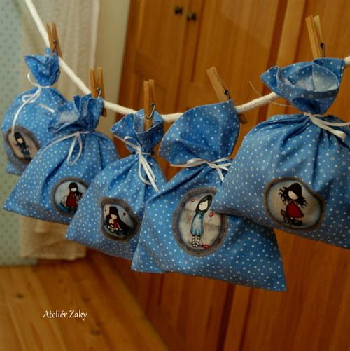 Šetrné holčičkové balení hvězdičkaté