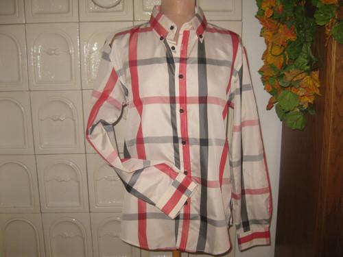 Košile ve vzoru Burberry
