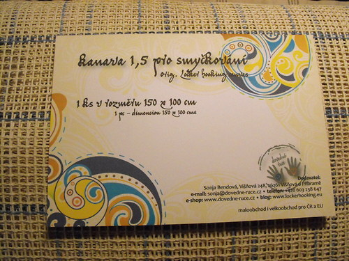Kanava 1,5 (rozměr 150x100 cm)