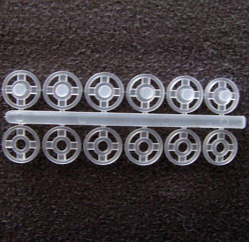 Knoflík plastový 6 ks