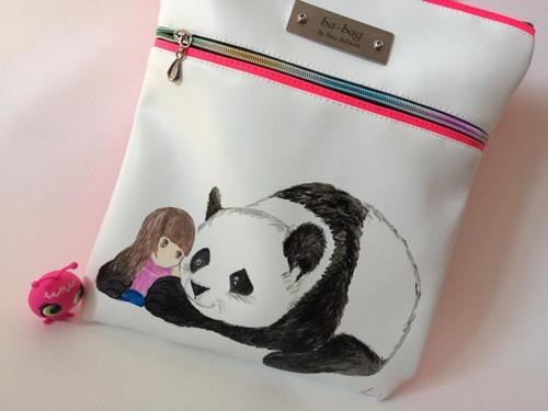 batůžek s malováním/panda