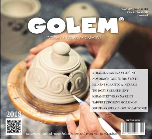 Časopis Golem číslo 1/2018
