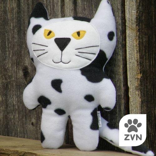 Hajánek ze statku - černobílá kočička pro ZVN