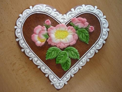 Srdíčko čajová růže
