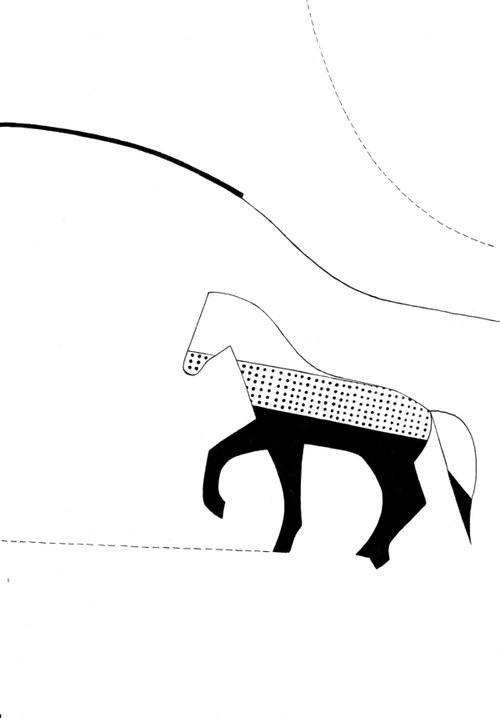 Le Cheval Géométrique - Jument