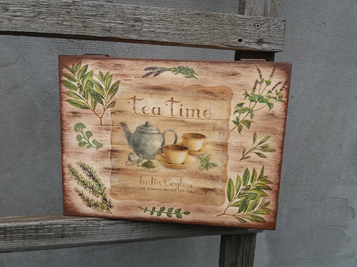 Čajová krabice - tea time