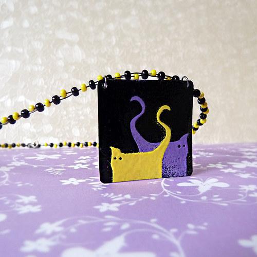 kočičkový náhrdelník