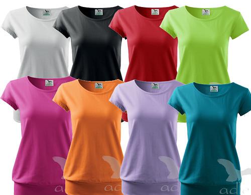 Dámské tričko City - různé barvy, velikosti