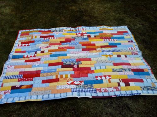 barevná deka - sleva 30 %