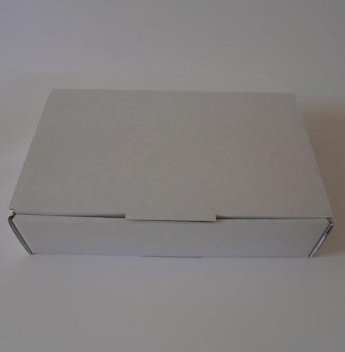 Dárková krabička větší bílá/bílá