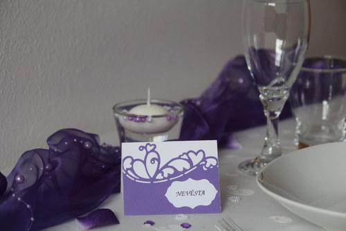 Svatební JMENOVKY na Váš stůl
