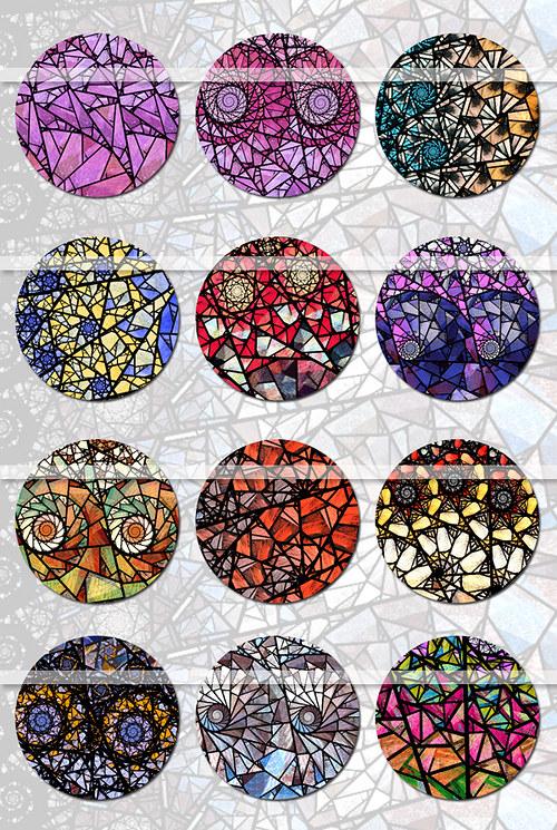 Vitráže - Barvy světa (Motivy)
