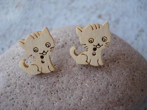 Náušničky - zvědavé koťátka