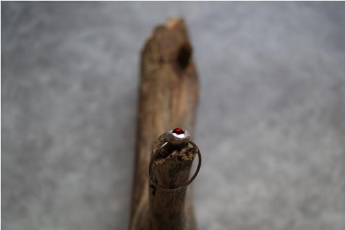 Kouzelný prstýnek s granátem I