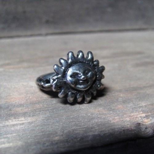 Tibetské stříbro - sluníčko