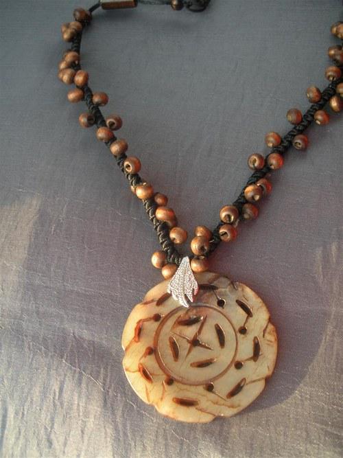 Jaspisový amulet.