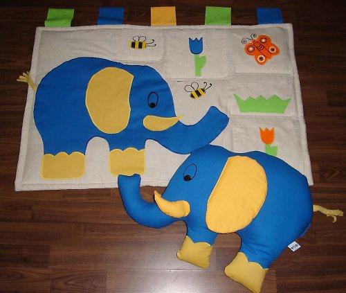 Sloníkov....kapsář a polštářek