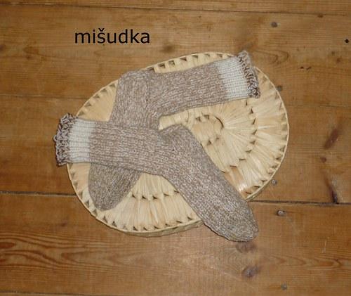 Ponožky jako od maminky -  béžové 21