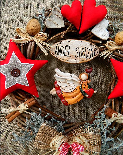 Staročeské Vánoce - anděl strážný
