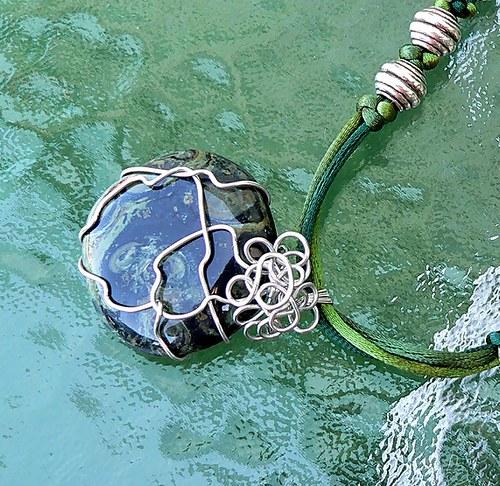 výprodej ze 186,- jaspis kambaba - náhrdelník