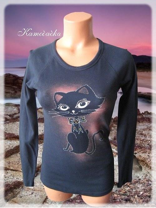 Dámské tričko s kočičkou 2
