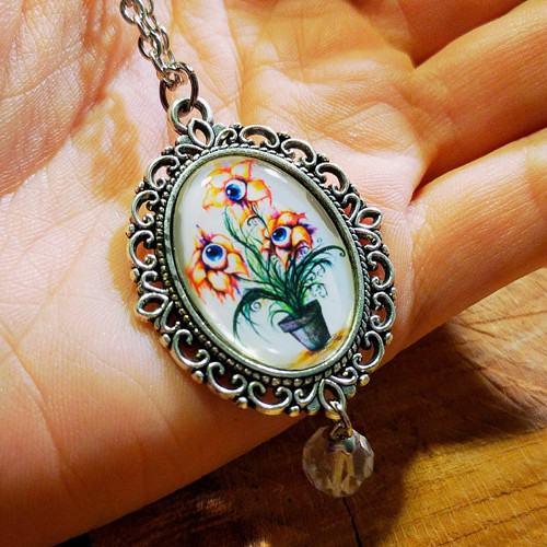 náhrdelník Očičkytka