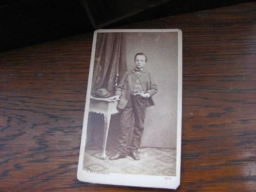 První syn ...stará kabinetní fotografie