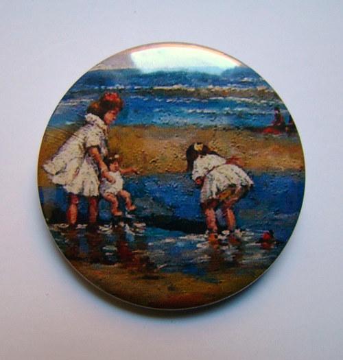 NA BŘEHU.. - placka - button - 44 mm