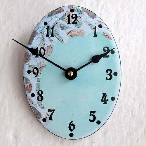 Smaltované hodiny 43