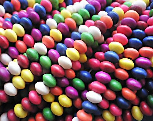 Howlit rondelky multi-color - 20ks