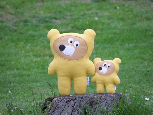 """Hajánci - medvídci sluníčkoví \""""malej a velkej\"""""""