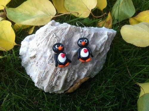 Tučňák se srdíčkem